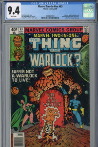 Marvel Two-In-One #63 CGC 9.4