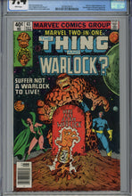 Load image into Gallery viewer, Marvel Two-In-One #63 CGC 9.4