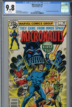 Load image into Gallery viewer, Micronauts #1 CGC 9.8 1st Appearance