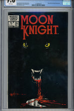 Load image into Gallery viewer, Moon Knight #29 CGC 9.8 Classic Cover