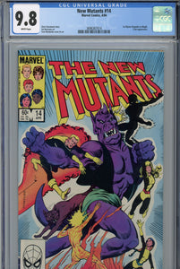 The New Mutants #14 CGC 9.8 1st Illyana as Magik