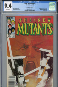 The New Mutants #26 CGC 9.4 Canadian Price Variant 1st Legion