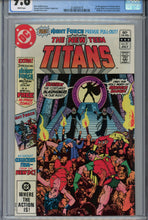 Load image into Gallery viewer, New Teen Titans #21 CGC 9.8 1st Appearance of Brother Blood