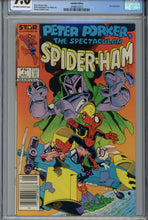 Load image into Gallery viewer, Peter Porker, The Spectacular Spider-Ham #1 CGC 9.6 CPV