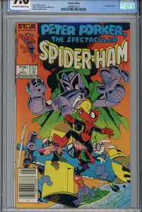 Peter Porker, The Spectacular Spider-Ham #1 CGC 9.6 CPV