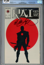 "Load image into Gallery viewer, Rai #0 CGC 9.6 ""Glossy Version"" Signed Bob Layton 1st Bloodshot"