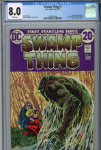 Load image into Gallery viewer, Swamp Thing #1 CGC 8.0