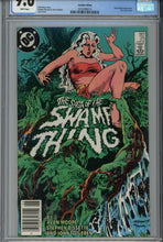 Load image into Gallery viewer, Saga of the Swamp Thing #25 CGC 9.6 Canadian Price Variant