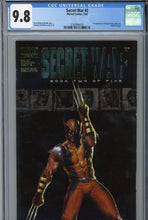 Load image into Gallery viewer, Secret War #2 CGC 9.8 1st Appearance of Quake