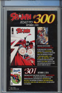 Spawn #299 CGC 9.8 1 of 1000 Fan Expo Edition