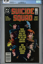 Load image into Gallery viewer, Suicide Squad #1 CGC 9.6 Canadian Price Variant