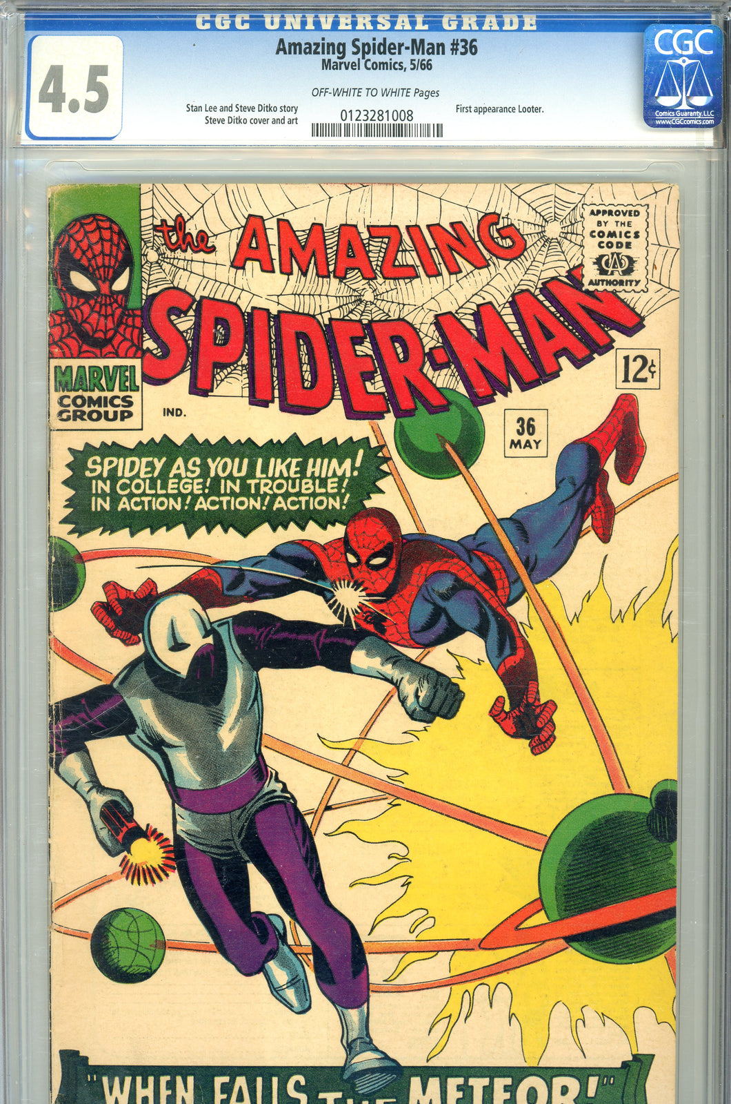 Amazing Spider-Man #36 CGC 4.5