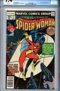 Spider-Woman #1 CGC 9.4 WP