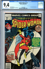 Load image into Gallery viewer, Spider-Woman #1 CGC 9.4 WP