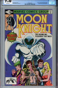 Moon Knight #1 CGC 9.8 WP
