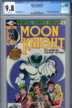 Load image into Gallery viewer, Moon Knight #1 CGC 9.8 WP