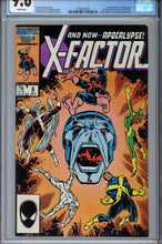 Load image into Gallery viewer, X-Factor #6 CGC 9.6 WP 1st Apocalypse