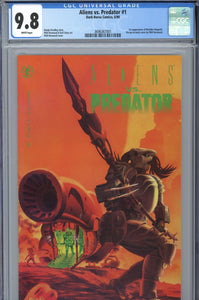 Aliens Vs. Predator #1 CGC 9.8