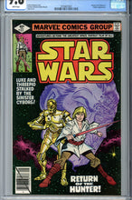 Load image into Gallery viewer, Star Wars #27 CGC 9.8