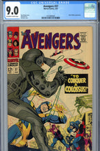 Load image into Gallery viewer, Avengers #37 CGC 9.0