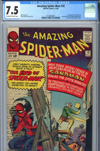 Amazing Spider-Man #18 CGC 7.5 1st Ned Leeds