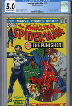 Load image into Gallery viewer, Amazing Spider-Man #129 CGC 5.0 1st Punisher