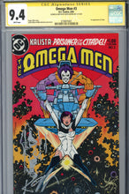 Load image into Gallery viewer, The Omega Men #3 CGC 9.4  SS Giffen Lobo Sketch