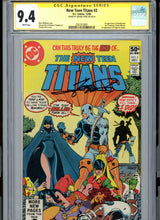 Load image into Gallery viewer, New Teen Titans #2 - FIRST DEATHSTROKE!  CGC 9.4 Signature Series White Pages - Signed Perez