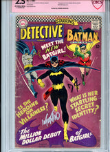 Load image into Gallery viewer, Detective Comics #359 - FIRST Batwoman!!! Signed Infantino CBCS 2.5