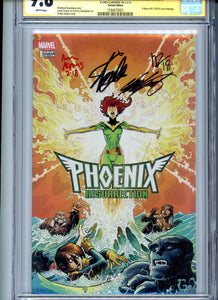 Phoenix Resurrection:  The Return of Jean Grey #1 CGC 9.8 - Signed Lee Rosenberg Adams Claremont