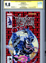 Load image into Gallery viewer, Venom #1 - CGC 9.8 - Mike Mayhew Signature + Original Sketch Remark Beautiful!