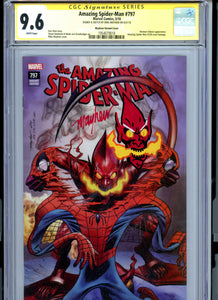 Amazing Spider-Man 797 - Mike Mayhew Variant Cover - Sketch + Signature CGC 9.6