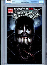 Load image into Gallery viewer, Amazing Spider-Man #569 - CGC 9.8 - Classic Venom Variant Cover