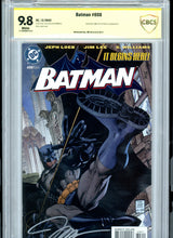 Load image into Gallery viewer, Batman #608 - HUSH - Signed Jim Lee - CBCS 9.8