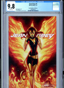 Jean Grey #1 - J SCOTT Campbell Cover D - CGC 9.8
