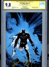 Load image into Gallery viewer, Dark Nights Metal #1 - Signed Capullo / Snyder CGC 9.8 - CAPULLO VARIANT Edition (C) - Blue