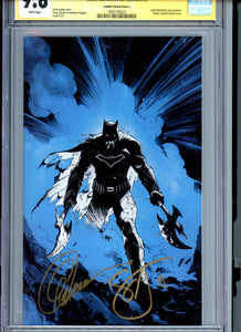 Dark Nights Metal #1 - Signed Capullo / Snyder CGC 9.8 - CAPULLO VARIANT Edition (C) - Blue