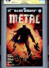 Load image into Gallery viewer, Dark Nights Metal #1 - Signed Capullo / Snyder CGC 9.8 - CAPULLO VARIANT Edition (A)