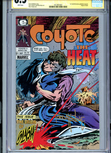 Coyote #11 - Signed by Todd McFarlane - CGC 8.5 - First McFarlane Art!