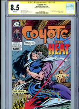 Load image into Gallery viewer, Coyote #11 - Signed by Todd McFarlane - CGC 8.5 - First McFarlane Art!