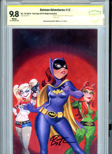 Batman Adventures #12 - Reprinting First Harley Quinn - Virgin 2016 Convention Edition - Signed by Timm CBCS 9.8