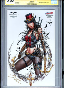Grimm Fairy Tales #9 v2 - Cover L - Signed by Jamie Tyndall - CGC 9.8 - Limited to 100