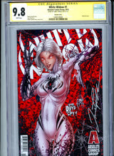 Load image into Gallery viewer, White Widow #1 - COVER B - Signed by Jamie Tyndall - CGC 9.8