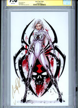 Load image into Gallery viewer, White Widow #1 - Venom Virgin Variant - CGC 9.8 - Signed Tyndall