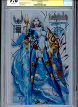 Load image into Gallery viewer, Lady Death:  Nightmare Symphony #1 CGC 9.8 Metal Edition signed by Jamie Tyndall