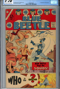 Blue Beetle #1 1967 CGC 7.0 1st The Question