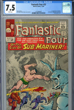 Load image into Gallery viewer, Fantastic Four #33 CGC 7.5 WP 1st Attuma