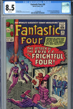 Load image into Gallery viewer, Fantastic Four #36 CGC 8.5 WP 1st Medusa