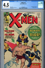 Load image into Gallery viewer, X-Men #3 CGC 4.5 1st Blob