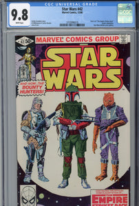 Star Wars #42 CGC 9.8 1st Appearance of Boba Fett
